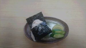 宝寿司しゃりチャーおにぎり(250円)
